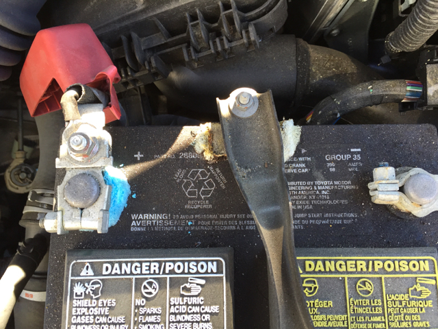 Excessive Battery Corrosion Toyota Nation Forum